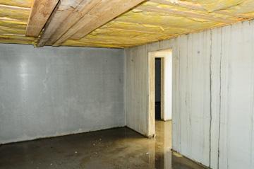 Kellerabteil nach Hochwasser