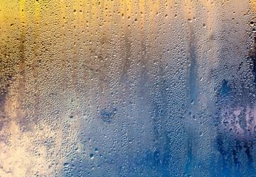 Fenster mit Kondenswasser