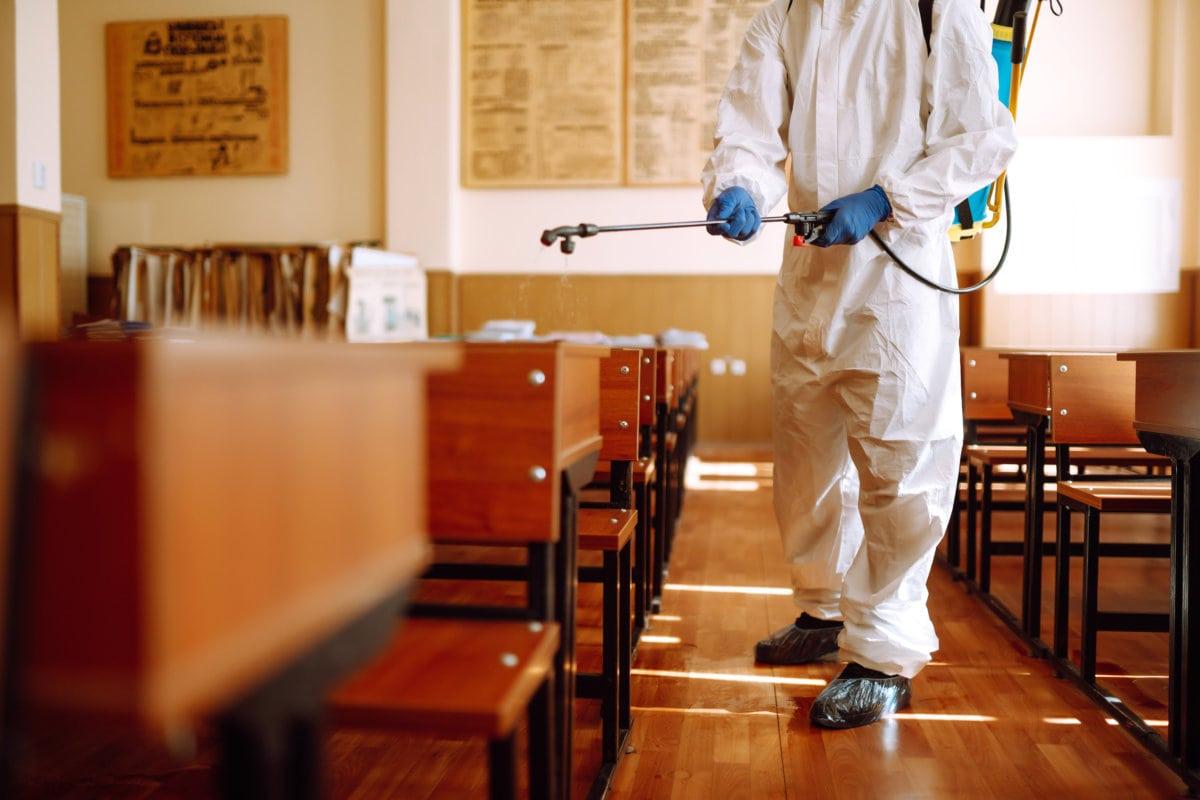 Luftdesinfektion im Restaurant